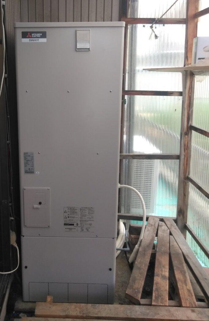 滋賀県三菱エコキュートSRT-S375UA施工後の写真