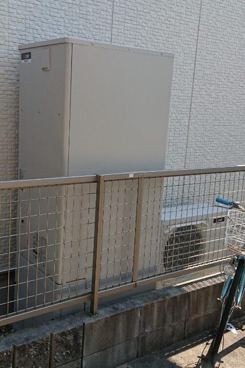 奈良県三菱エコキュートSRT-S435UZ施工後の写真