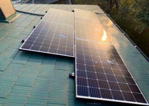 大阪府QCELLS太陽光発電システムQ.PEAK DUO-G6施工後その他の写真2