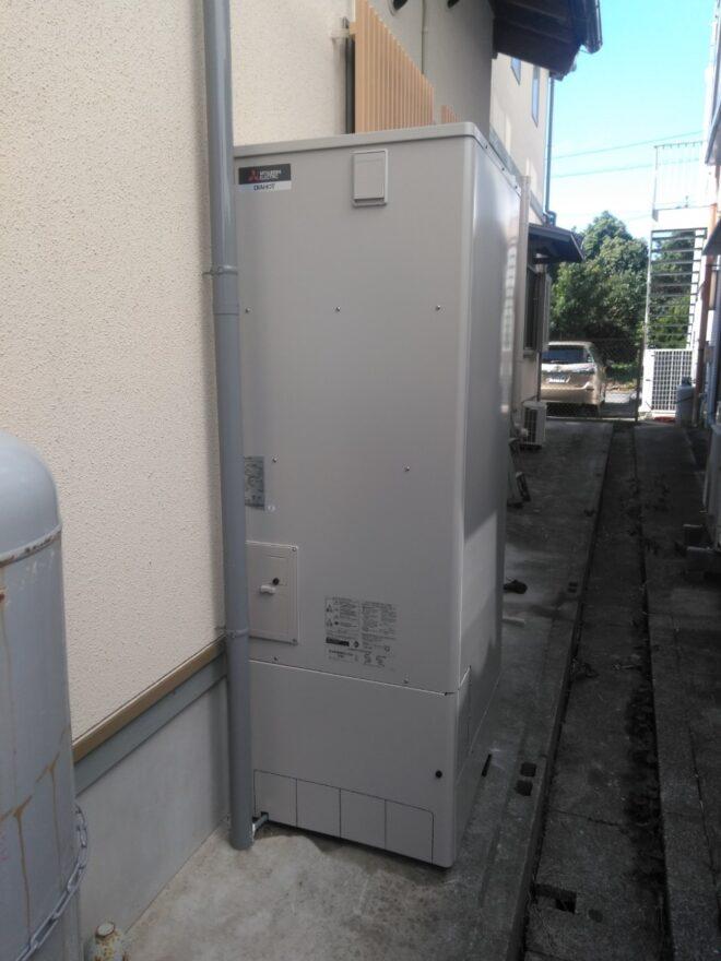 兵庫県三菱エコキュートSRT-S375UA施工後の写真