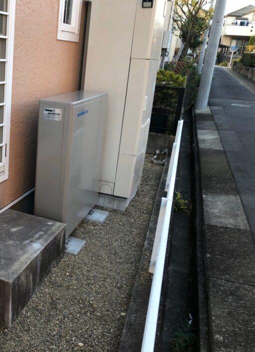 奈良県nichicon蓄電池ESS-U2M1施工後の写真