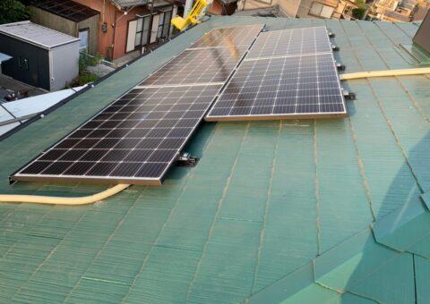 大阪府QCELLS太陽光発電システムQ.PEAK DUO-G6施工後その他の写真1