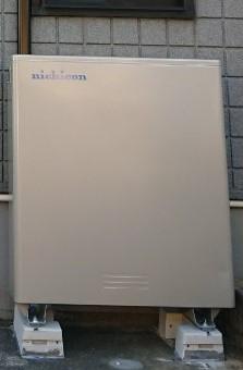 大阪府nichicon蓄電池 ESS-U2M1施工後の写真