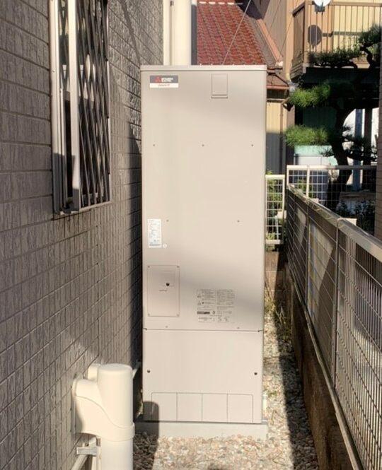 大阪府三菱エコキュートSRT-S465UA施工後の写真