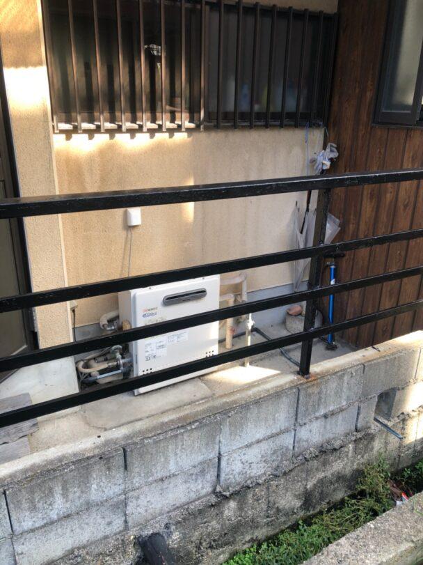奈良県三菱エコキュートSRT-S375UA三菱IHクッキングヒーターCS-G318MS施工前の写真