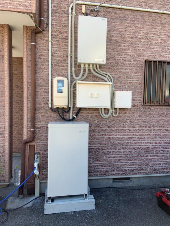 京都府Canadian Solar蓄電システムCS-TL70GF施工後の写真