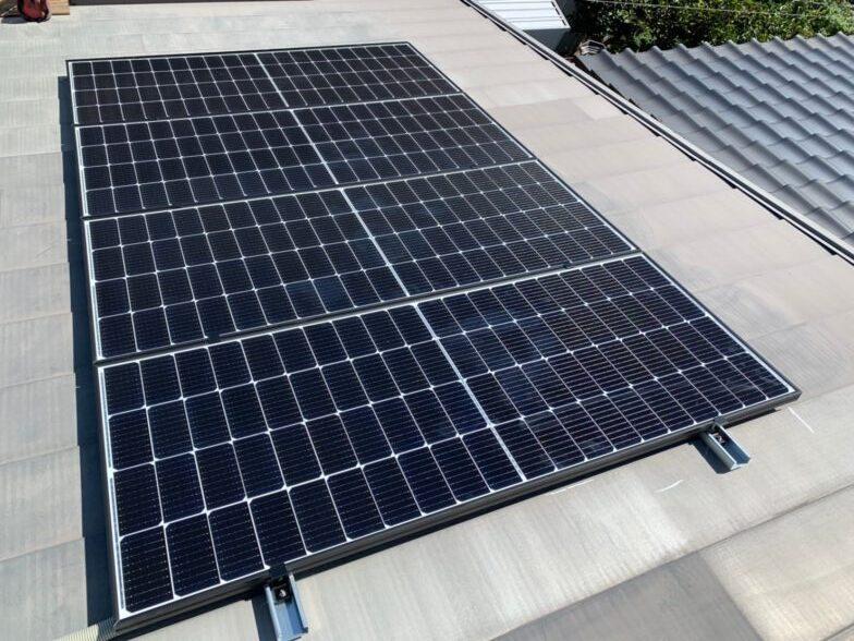 京都府Canadian Solar太陽光発電システムCSH1-335MS 施工後の写真