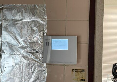 愛知県東芝エコキュートHWH-B376H施工後その他の写真2