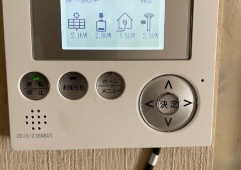 大阪府田淵電機蓄電システム アイビス7EOF-LB70-TK施工後その他の写真2