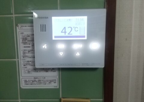 愛知県東芝エコキュートHWH-B376H三菱IHクッキングヒーターCS-H321M施工後その他の写真1