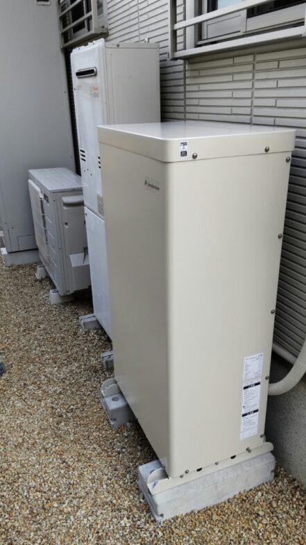 大阪府EIBS7蓄電池システムEHF-S55MP3B施工後の写真