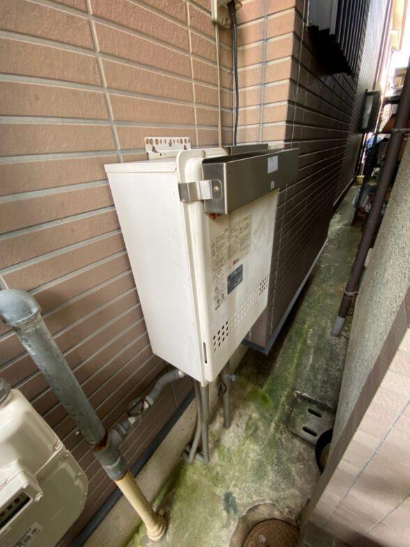 大阪府東芝エコキュートHWH-B376HW施工前の写真