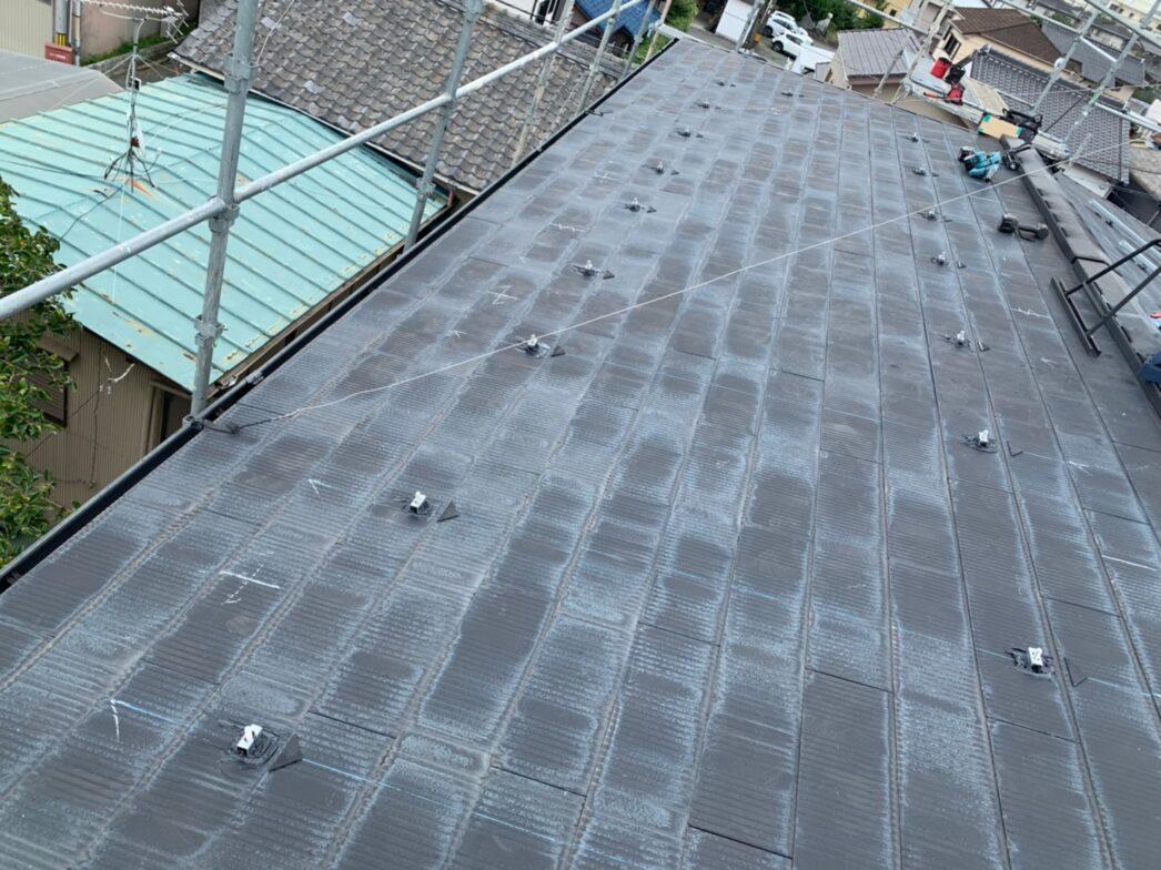 京都府Canadian Solar太陽光発電システムCS1-335MS施工前の写真