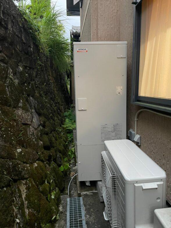 愛知県日立エコキュートBHP-F37SD施工後の写真