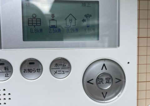 滋賀県長州産業蓄電システムCB-LKT70A施工後その他の写真2