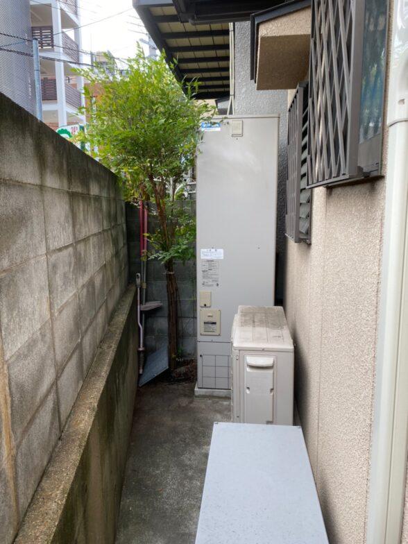 京都府三菱エコキュートSRT- S465UA施工前の写真