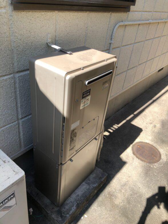 愛知県東芝エコキュートHWH-B376HW施工前の写真