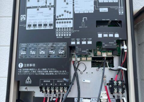 大阪府田淵電機蓄電システム アイビス7EOF-LB70-TK施工後その他の写真1