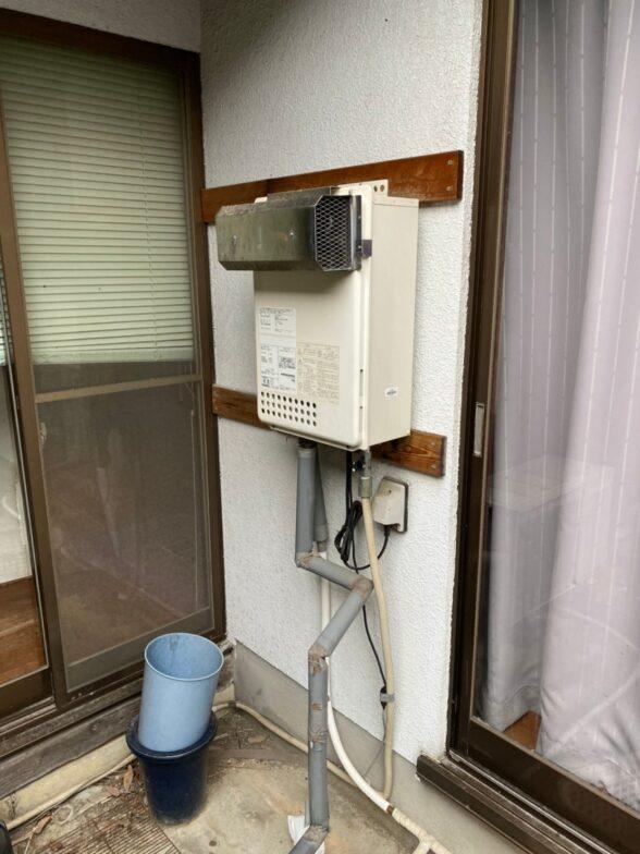大阪府東芝エコキュートHWH-F376H施工前の写真