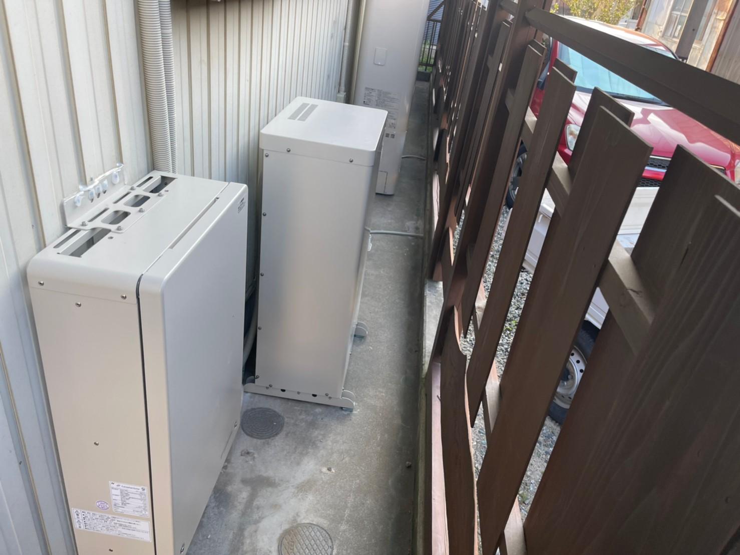 大阪府Canadian Solar蓄電池CSTL70GF施工後の写真