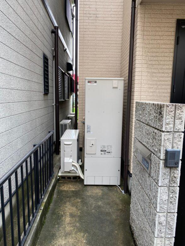 愛知県三菱エコキュートSRT-S375UA施工後の写真