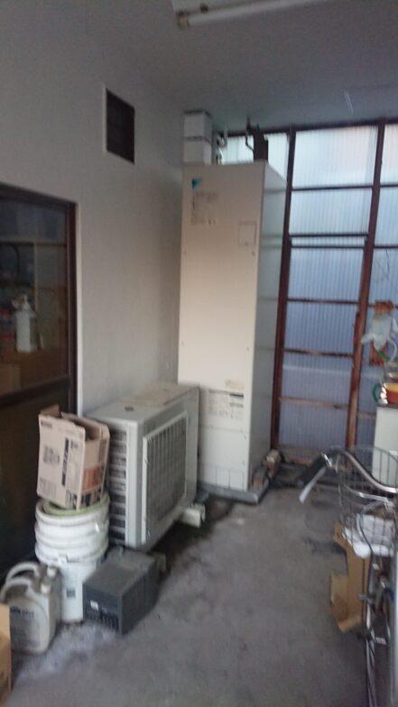 大阪府ダイキンエコキュートEQ37VV施工後の写真