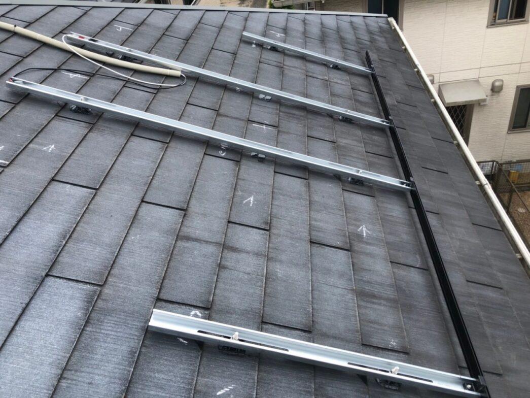 大阪府Candian Solar太陽光発電システムMOD-CSH1-335MS施工前の写真