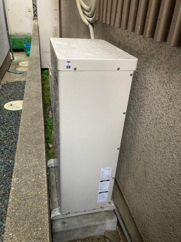 奈良県田淵電機蓄電システムEHF-S55MP3B施工後の写真