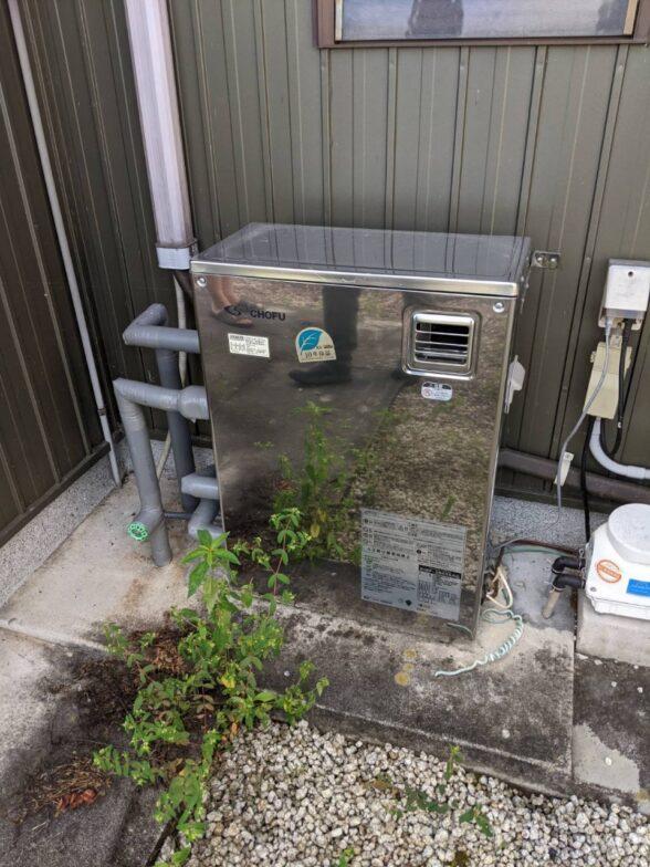 大阪府東芝エコキュートHWH-B466H施工前の写真