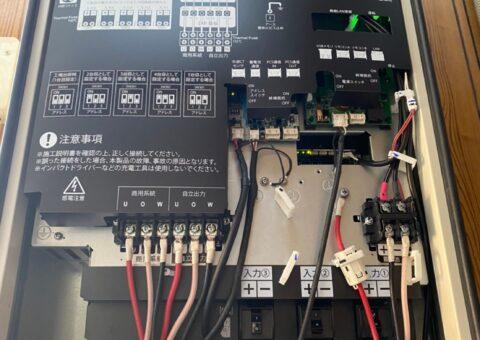 奈良県Canadian solar蓄電システムCSTH55GSF施工後その他の写真1