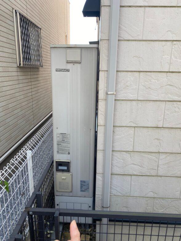 兵庫県三菱エコキュートSRT-S375UZ施工前の写真