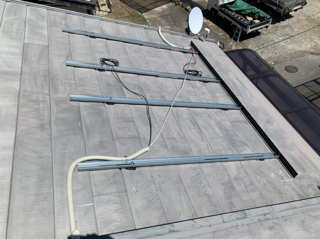 京都府Canadian Solar太陽光発電システムCSH1-335MS 施工前の写真