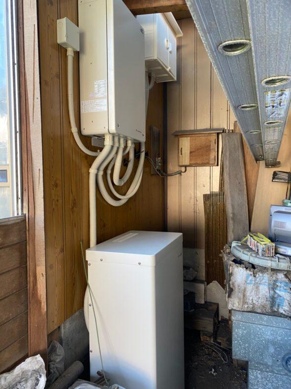 奈良県Canadian solar蓄電システムCSTH55GSF施工後の写真