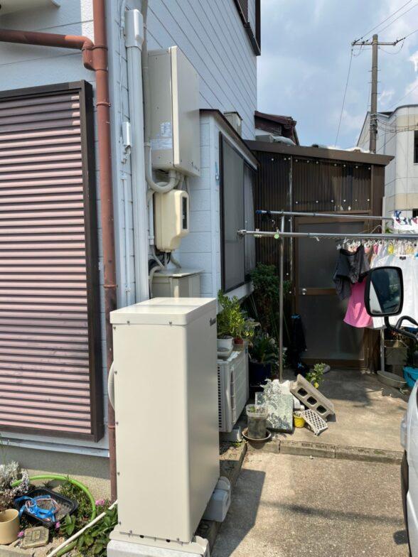 大阪府田淵電機蓄電システム アイビス7EOF-LB70-TK施工後の写真