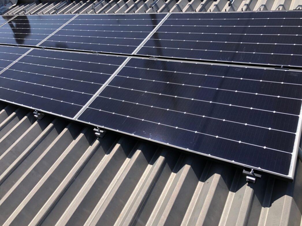 和歌山県Canadian Solar太陽光発電システムCS1H-335MS施工後の写真