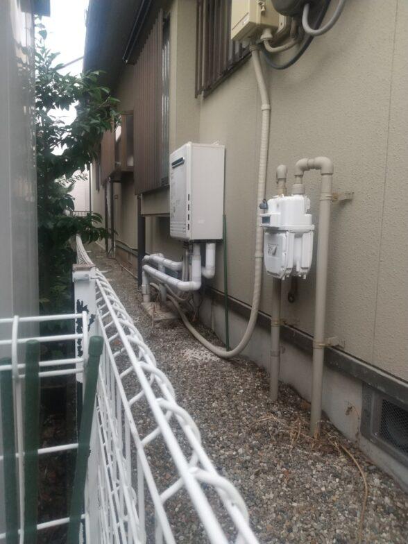 奈良県東芝エコキュートHWH-B466H施工前の写真
