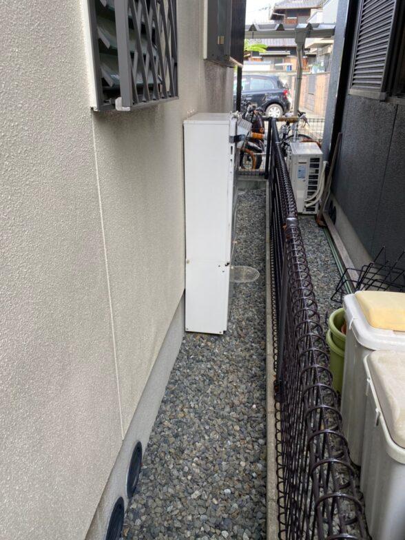 兵庫県東芝エコキュートHWH-B376HW施工前の写真