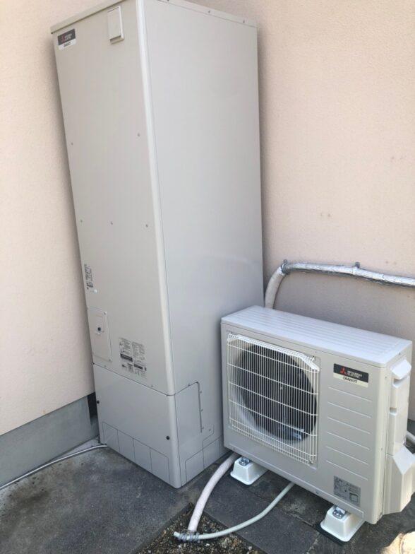 京都府三菱エコキュートSRT-S465UA施工後の写真