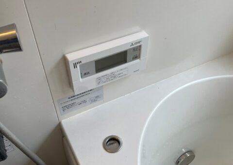 大阪府三菱エコキュートSRT-S435UZ施工後その他の写真2