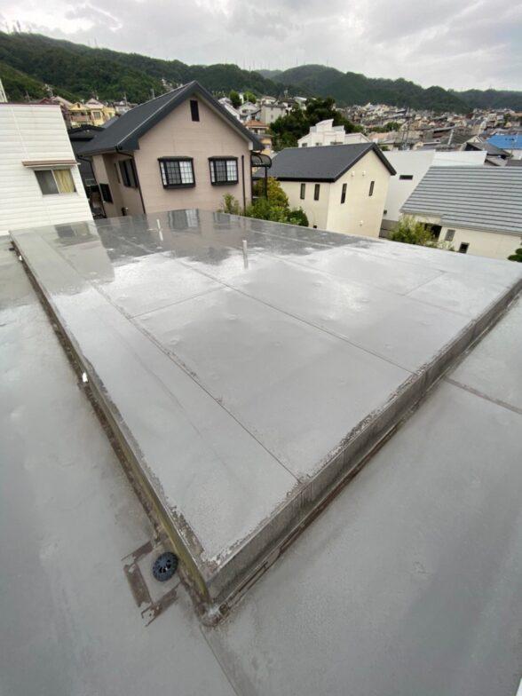大阪府長州産業太陽光発電システムCS-284B61施工前の写真