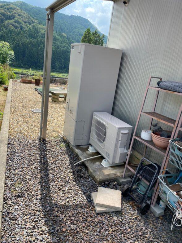 大阪府三菱エコキュートSRT-W375施工後の写真