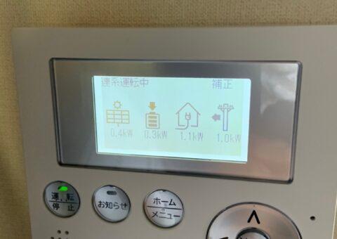 奈良県田淵電機蓄電システムEOF-LB70-TK施工後その他の写真1