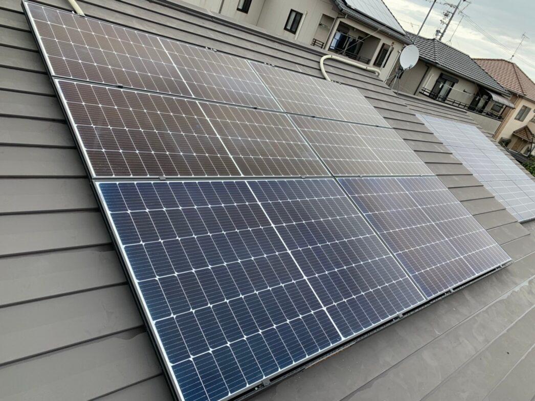 和歌山県Canadian Solar太陽光発電システムCS3L-375MS施工後の写真