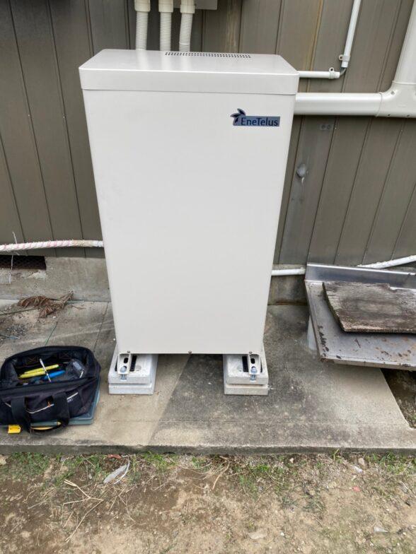 兵庫県田淵電機蓄電システムEIBS7CS-TL70-GF施工後の写真