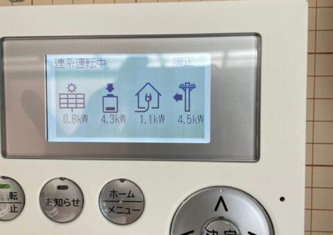 愛知県田淵電機蓄電システム(EIBS7)EOF-LB70-TK施工後その他の写真1