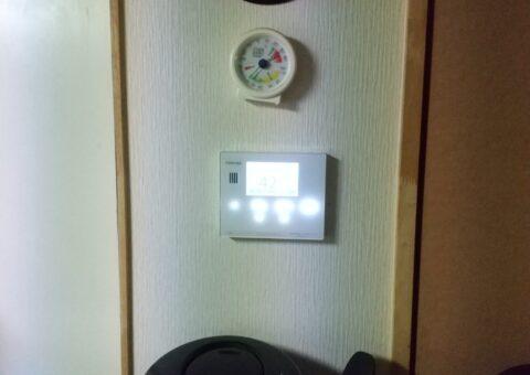 大阪府東芝エコキュートHWH-B37HW三菱IHクッキングヒーターCS-G321MS施工後その他の写真1