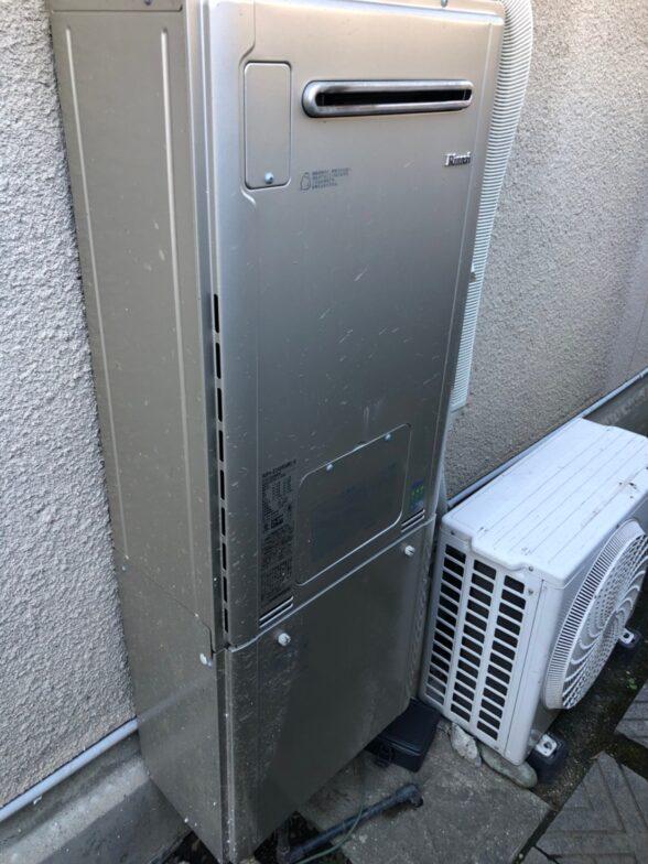 愛知県東芝エコキュートHWH-B466H施工前の写真