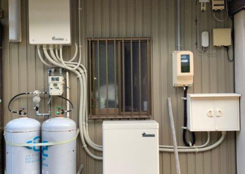 愛知県田淵電機蓄電システムEIBS7CS-TL70-GF施工後その他の写真2