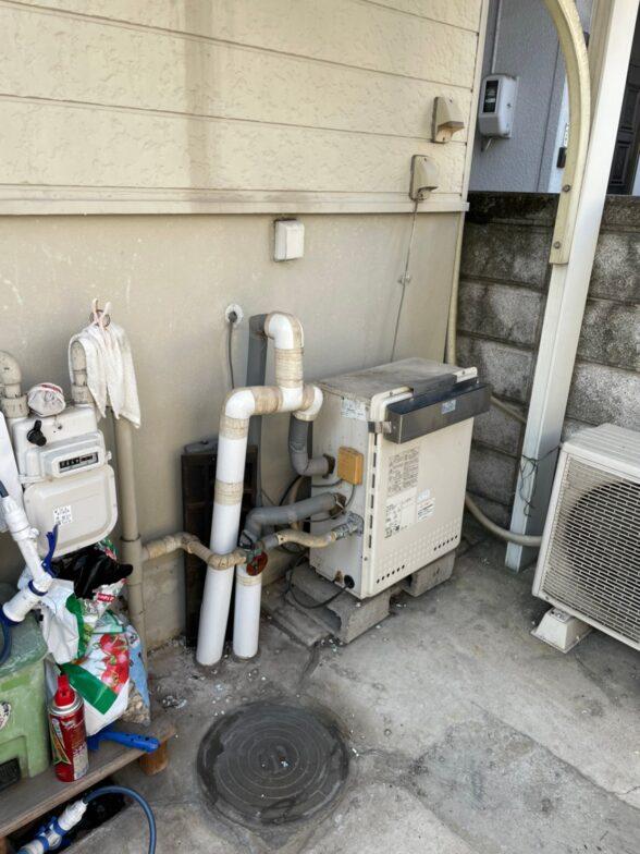 和歌山県東芝エコキュートHWH-B376HA施工前の写真