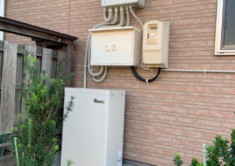 奈良県田淵電機蓄電システムEOF-LB70-TK施工後その他の写真2